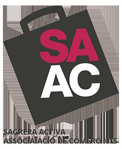 SAAC Sagrera Activa Associació de Comerciants Logo